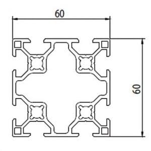 Aluminium T Slot Extrusion