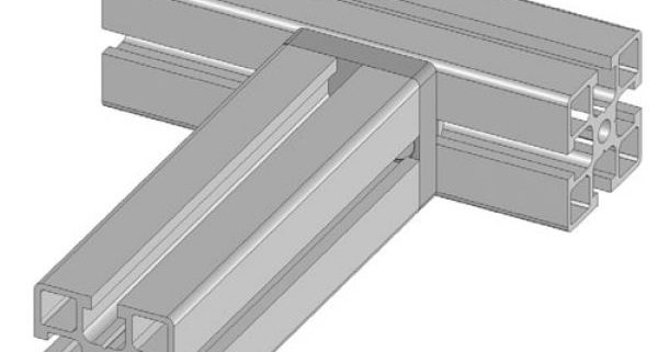 Clamping plate (8mm slot)