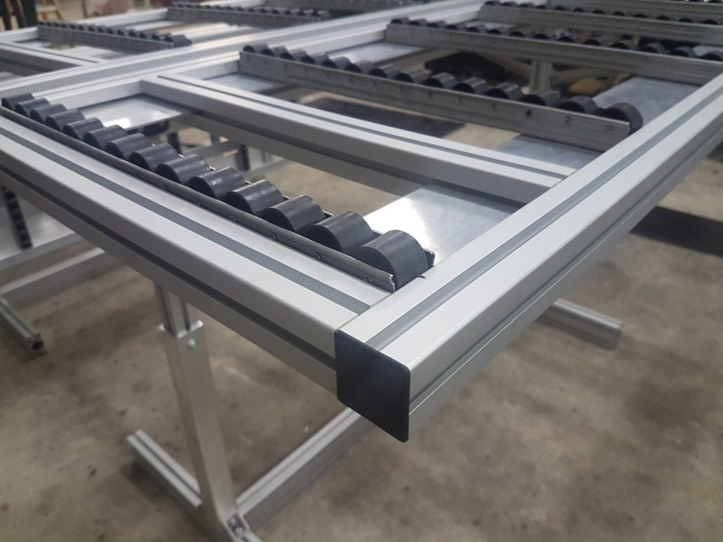 Aluminium T-Slot Extrusions for the Film Industry. - aluminium extrusion