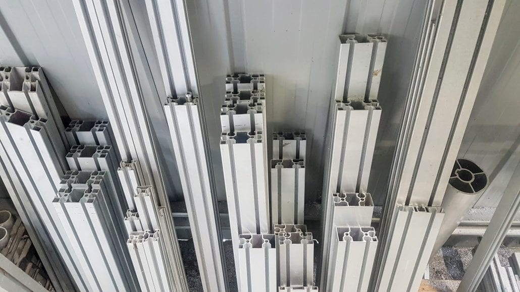 T Slot Extruded Aluminium Profile