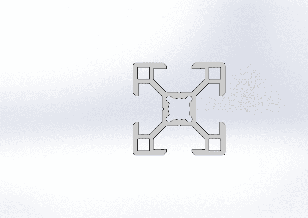 V slot Aluminium extruded profile