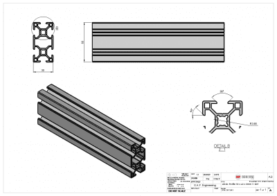 V-Slot Aluminium Profile from Alusic - aluminium extrusion