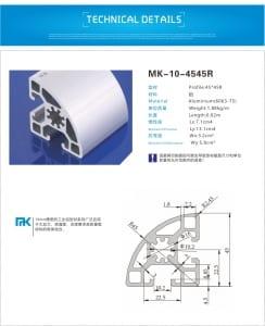 4545r-3 - aluminium extrusion