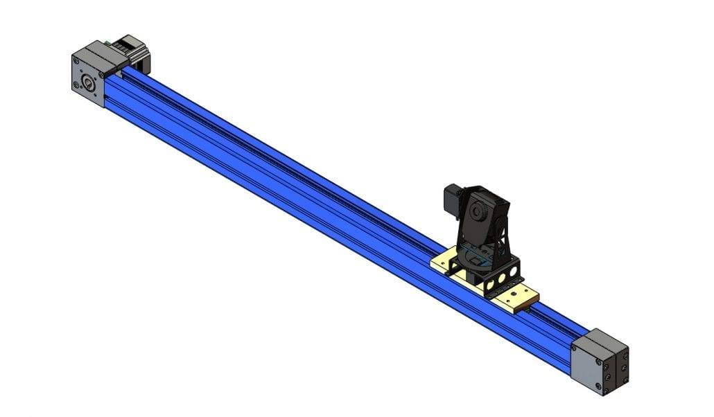 Aluminium extrusion linear system