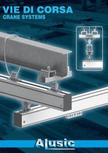 Aluminium T slot profile extrusion crane system