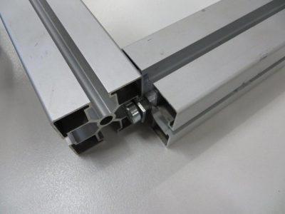 Aluminium profile joint parts
