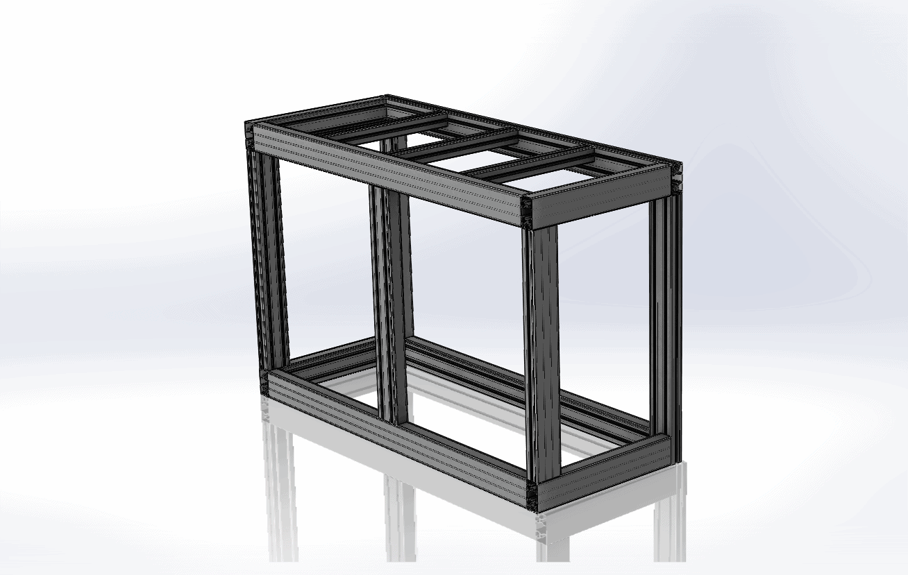 Alusic T Slot Aluminium profile extrusion frame