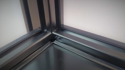 T Slot Aluminium Anodised Black