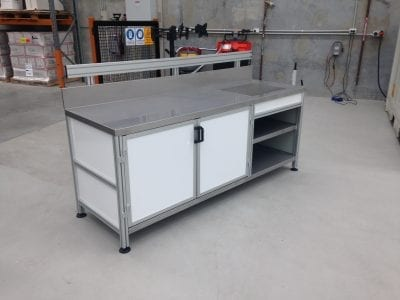 Custom made workbench