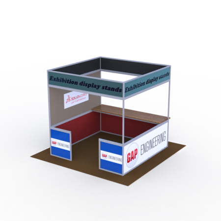 Simple Exhibition Display Stand