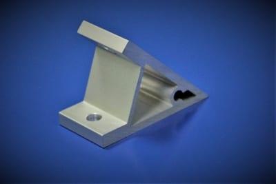 Extrusion bracket 45 degrees - aluminium extrusion