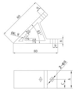 Figure I - aluminium extrusion