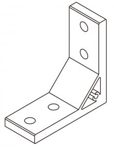 extrusion corner bracket 4040