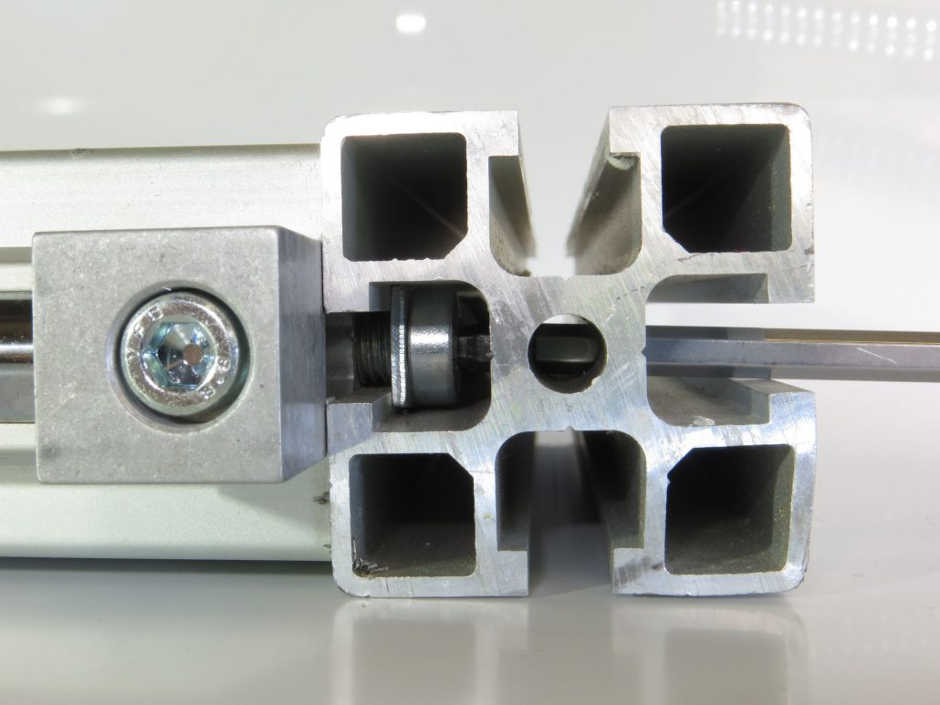 Extruded Aluminium joiner modular connection