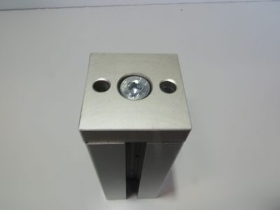 Alusic accessories clamping plate