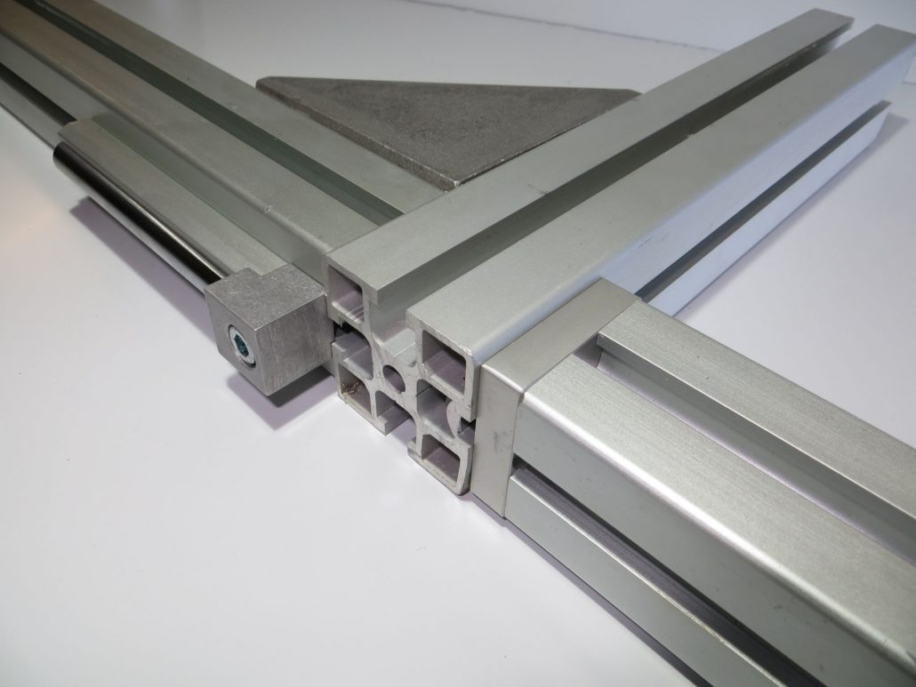 T slot extrusion clamping plate