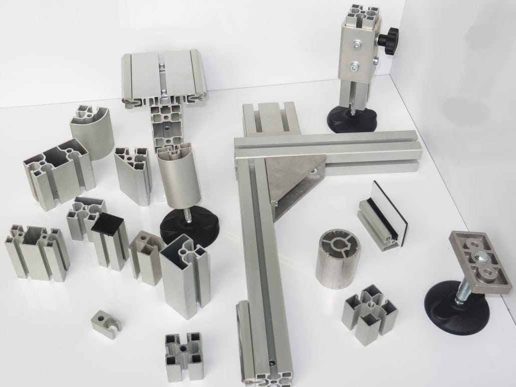 T Slot Aluminium Extrusions and Accessories for the Film Industry. - aluminium extrusion