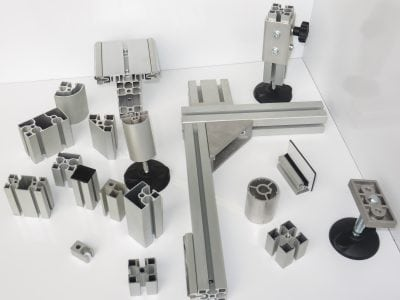 Profilium T Track Extrude Profiles and Accessories
