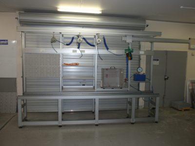 Aluminium workstation workbench