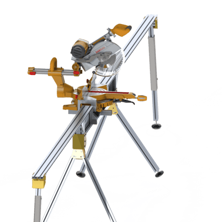 Set of Two Extension and Single Portable Saw Bench