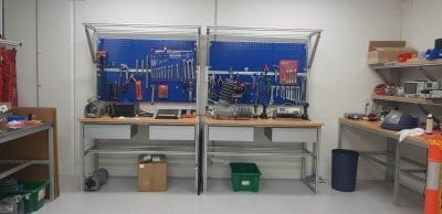 Custom made Workbenches and Workstations. - aluminium extrusion