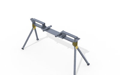 T-Slot extruded aluminium profile joints – sliding clamp - aluminium extrusion