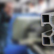 Aluminium T slot profile extrusion