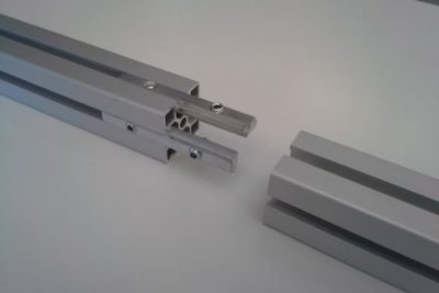T-Slot extruded aluminium profile joints – Linear joints - aluminium extrusion