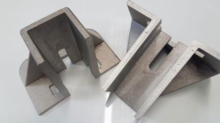 T Slot mounting foor foundation bracket