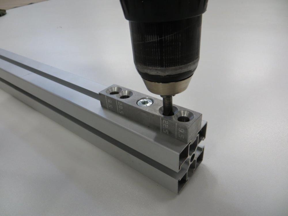 Alusic T Slot Aluminium drill jig
