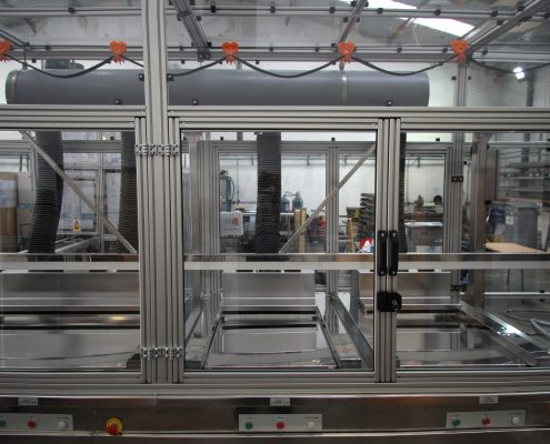 T slot extrusion machine guards