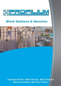 Aluminium profile workstations