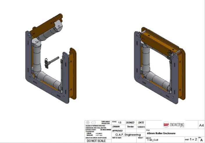Design and Fabrication - aluminium extrusion