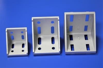 die cast corner brackets - aluminium extrusion