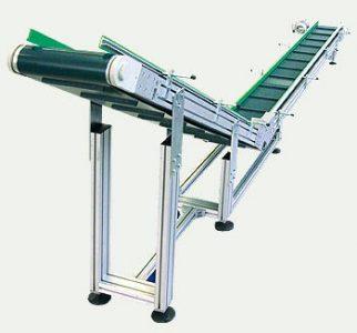 Aluminium extrusion conveyor