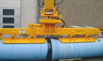 Pipe vacuum lifter