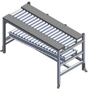 Aluminium T slot profile workbench